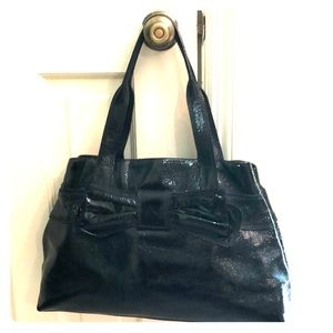 Kate Spade Black Bow Patent Leather Bag 2010